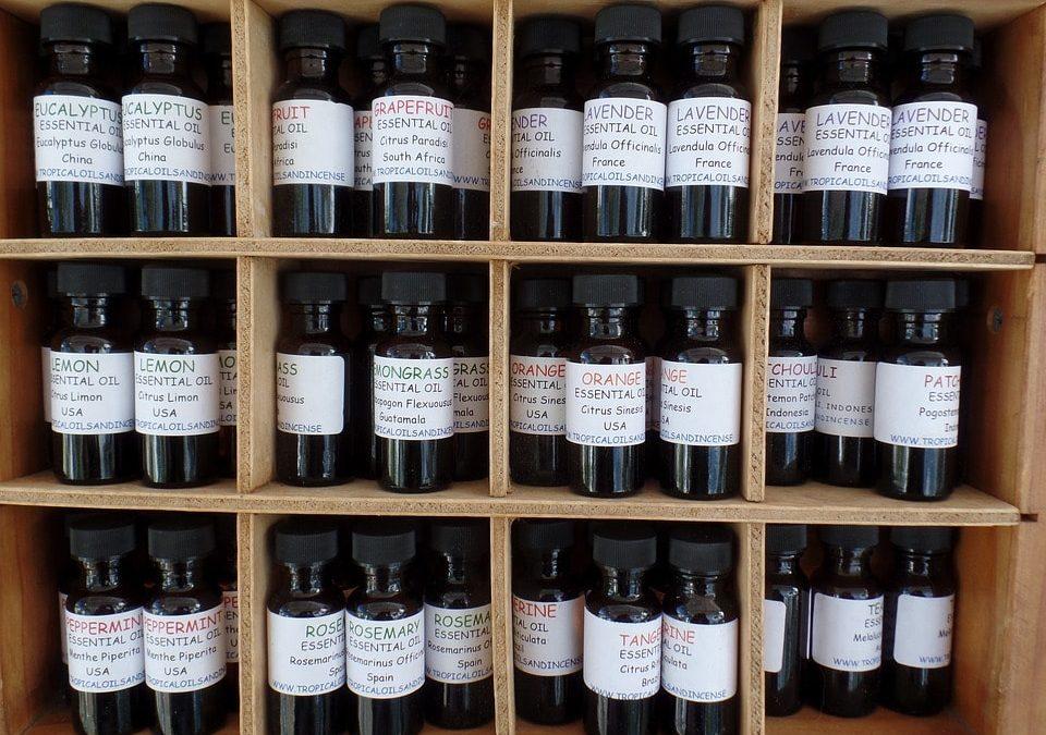 Olejki eteryczne i ich zastosowanie
